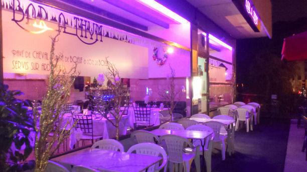 Le Bar à Thym la soir