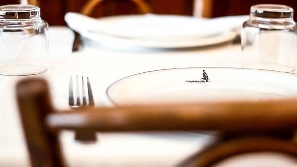 Chaplin Restaurante e Pizzaria Detalhe da mesa