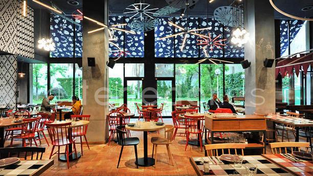 Restaurant bellavista del jard n del norte barcelona for El bellavista del jardin del norte