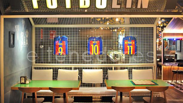 Restaurant bellavista del jard n del norte barcelona for Bellavista del jardin del norte