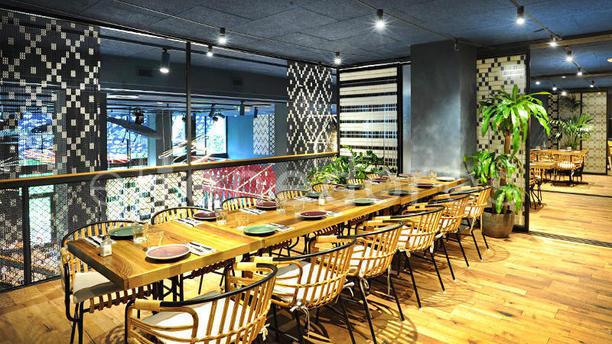 Bellavista del jard n del norte in barcelona restaurant for Bellavista jardin del norte