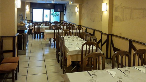 Restaurante del Pozo Vista sala