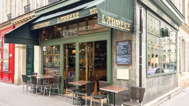 restaurant l 39 annexe chaptal paris 75009 pigalle saint georges saint lazare menu avis. Black Bedroom Furniture Sets. Home Design Ideas