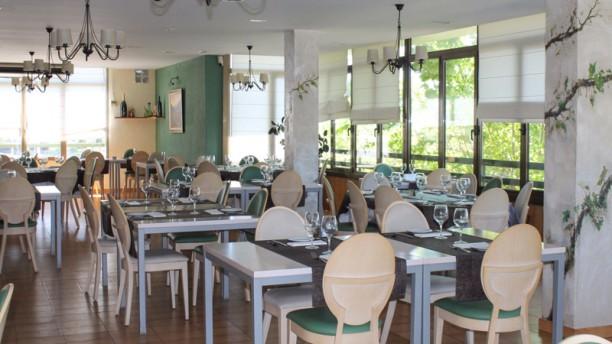 Les Vinyes Sala del restaurante