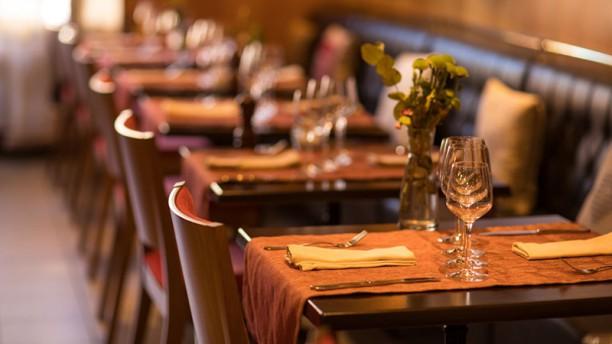 Restaurant de la Mairie Detail de la salle
