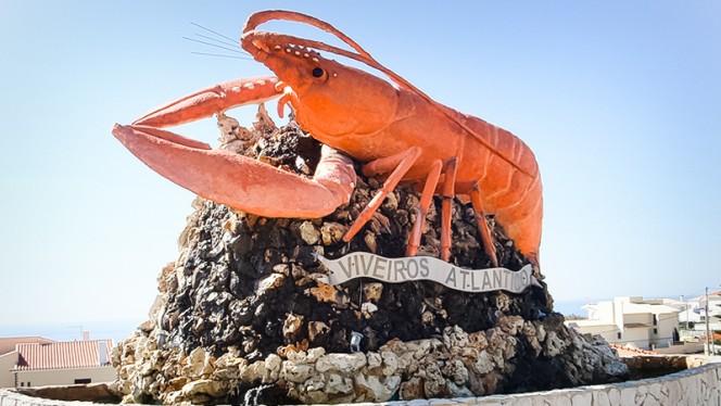 Marisqueira Viveiros do Atlântico ristorante menu pesce a Santo Isidoro in Portogallo