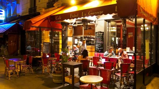 La Grange terrasse # Restaurant La Grange Sainte Geneviève Des Bois