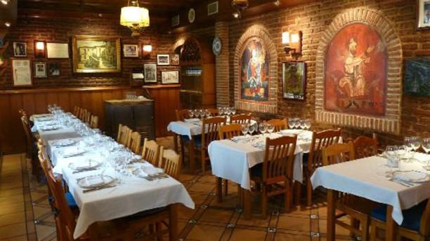 Horno de Juan Argüelles Sala del restaurante