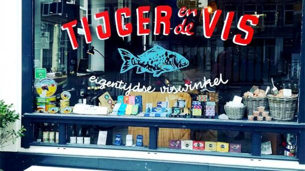 Tijger & de vis Voorkant