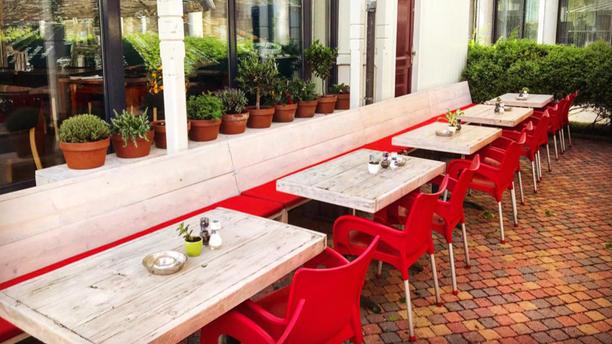 Boulevard Cafe Terras