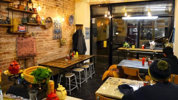 Lyoom Cantine Salle du restaurant