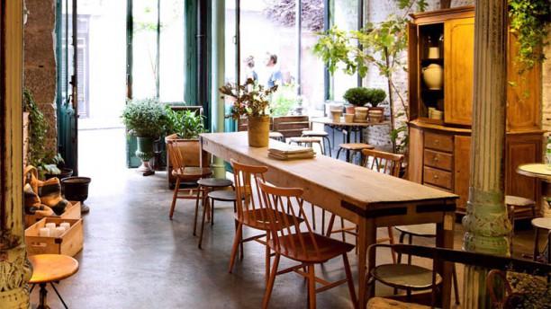 Il Tavolo Verde Vista de la sala