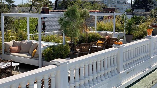Le Rooftop de la Palmeraie Terrasse
