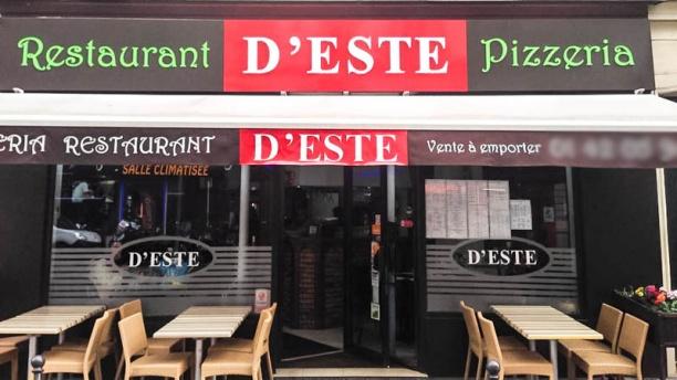 Pizza d'Este Vue devanture