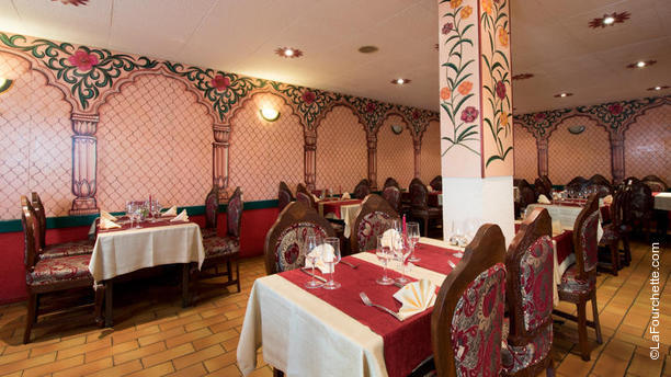 Indian Zayeka Salle du restaurant