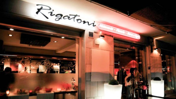 Rigatoni La entrata