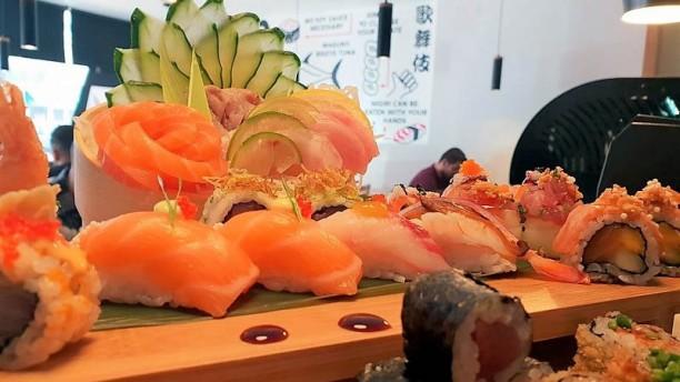 Kabuki Sushi Sugestão prato