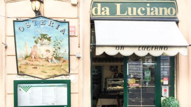 Osteria Da Luciano entrata