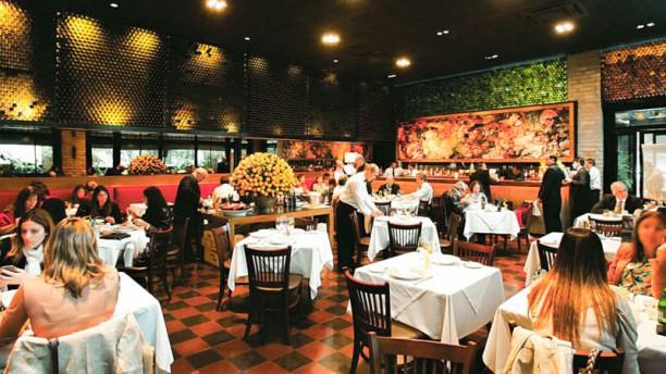 La Madonnina Ravioli sala do restaurante