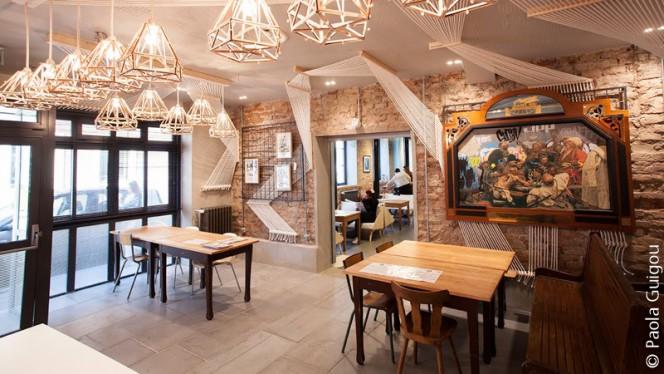Salle du restaurant - La Graffateria, Strasbourg