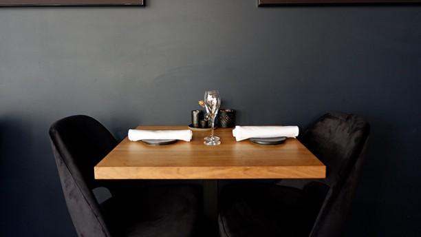 Restaurant De Zeeuw Detail van de tafel
