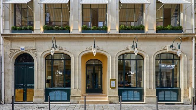Devanture - Jòia par Hélène Darroze, Paris