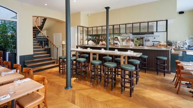 Salle du restaurant - Jòia par Hélène Darroze, Paris