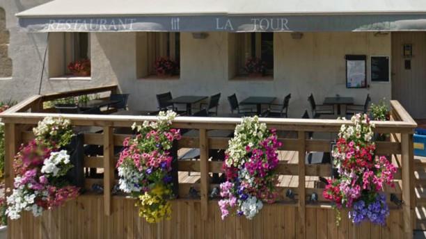 La Tour Sarrasine Terrasse