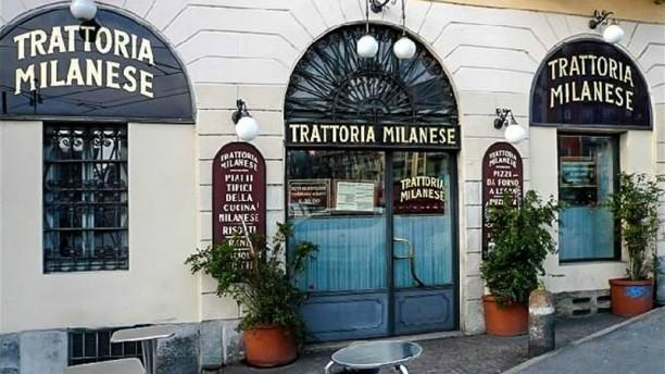 Trattoria Milanese La entrata