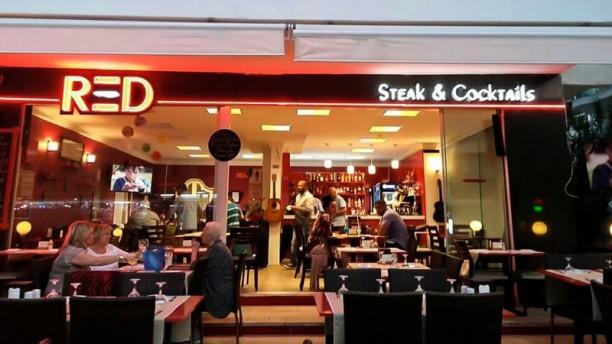 Red's Steak & Cocktails Entrance
