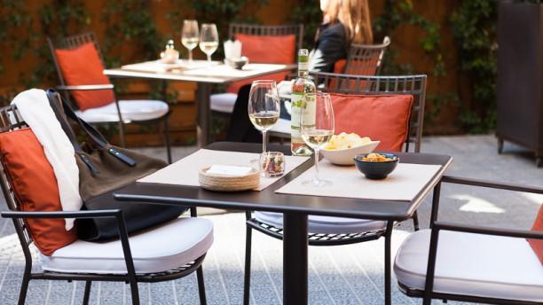 El Café Del Gallery Vista terraza
