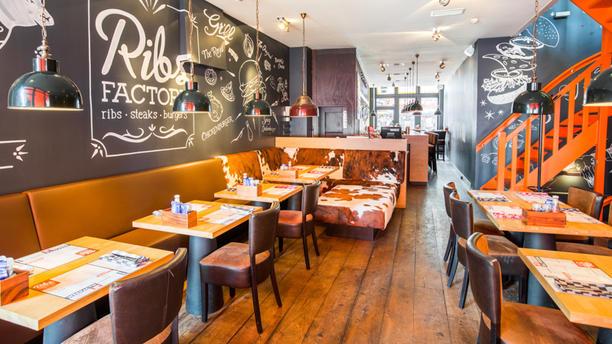 Ribsfactory Den Bosch Het restaurant