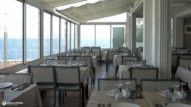 Chez Aldo Véranda vue sur port du restaurant Chez Aldo
