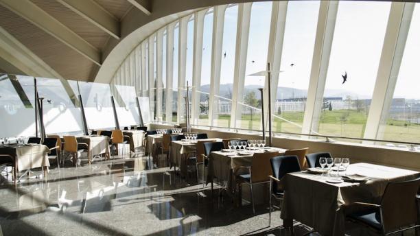 Aeropuerto de Bilbao Vista interior