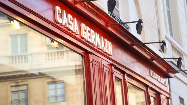 Casa Germain Façade du restaurant
