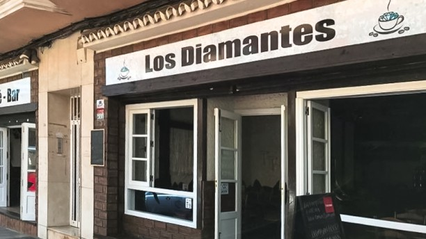 Cafe Bar Los Diamantes Entrada