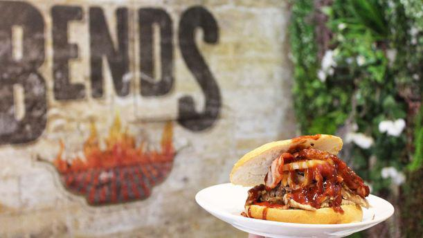 Parrilla Bends burger