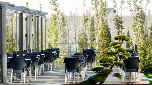 Restaurant de la Cosmétique Terrasse