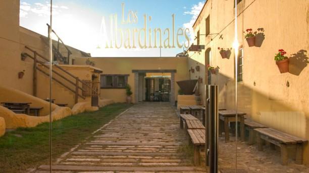 Los Albardinales Vista entrada