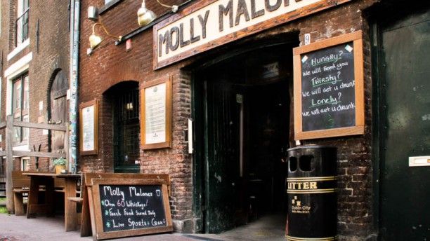 Molly Malone's Irish pub & Restaurant Terras