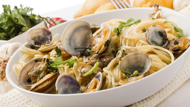 Il Pontaccio spaghetti alle vongole