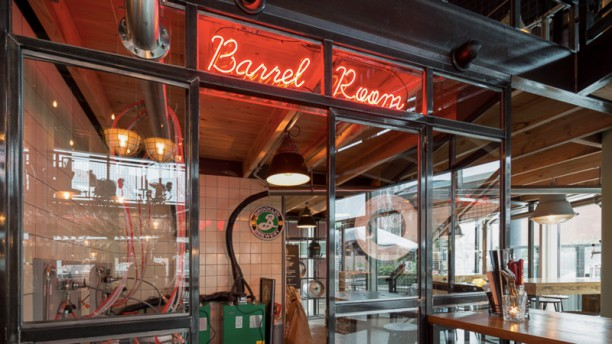 Beers & Barrels at the Harbour Restaurantzaal