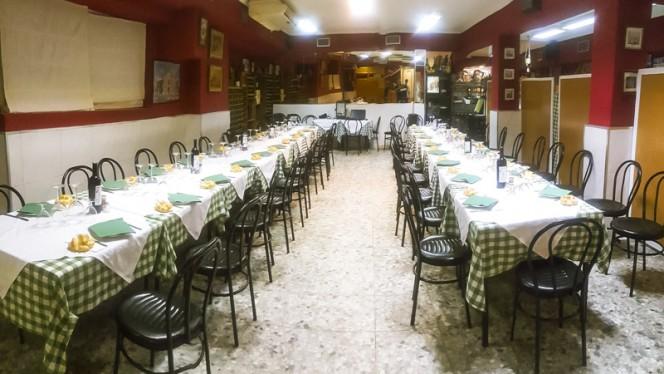 Vista sala - Casa Mariano, Madrid