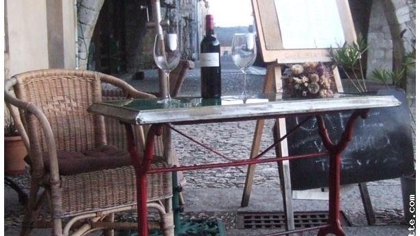 Galerie.M. Café Restaurant Vue extérieur