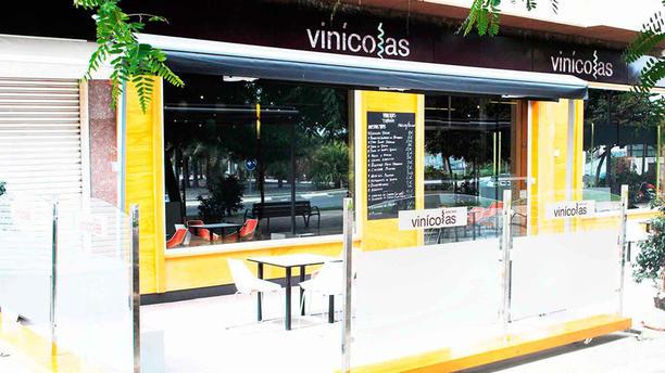 Vinícolas - San Juan Vista terraza