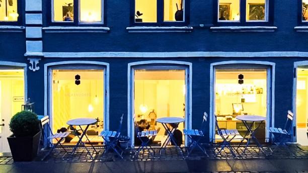 Café Valkendorfs Entrance