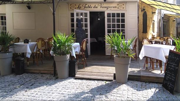 La Table du Vaugueux vue de la terrasse