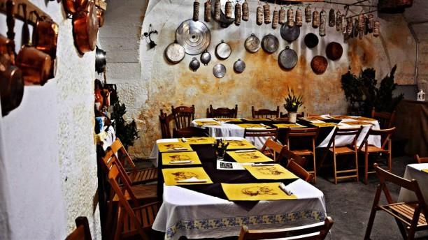 Antica Osteria Santa Chiara Vista sala