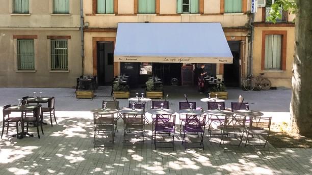 Le Café Adjacent Terrasses