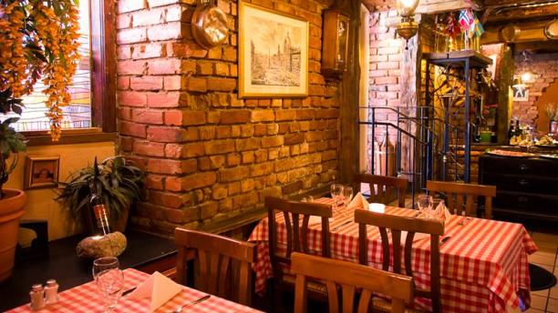 Pasta Plus Södra vägen Restaurangens rum